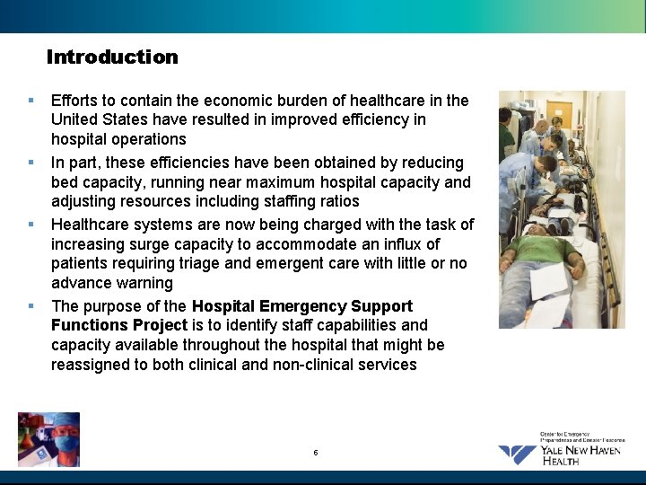 Introduction § § Efforts to contain the economic burden of healthcare in the United