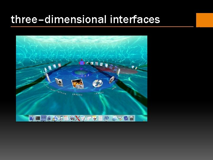 three–dimensional interfaces