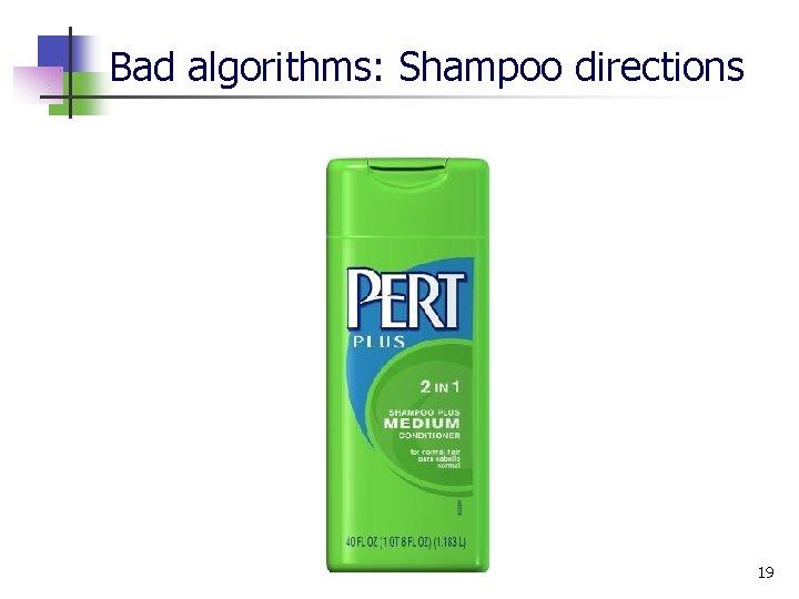 Bad algorithms: Shampoo directions 19