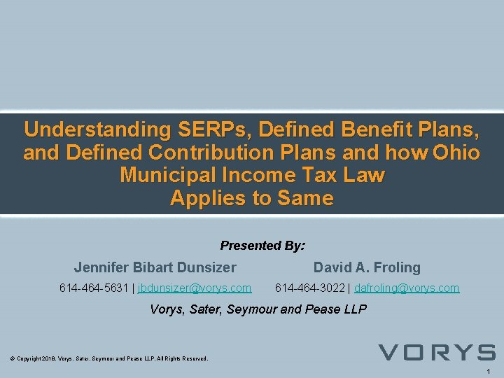 Understanding SERPs, Defined Benefit Plans, and Defined Contribution Plans and how Ohio Municipal Income