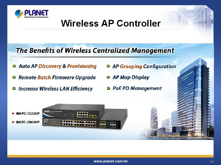 Wireless AP Controller 14
