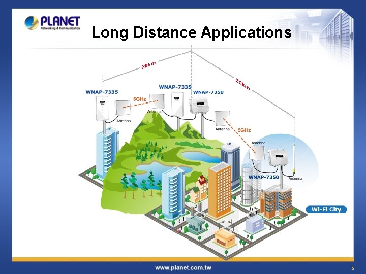Long Distance Applications 5