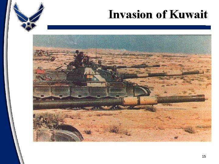 Invasion of Kuwait 15