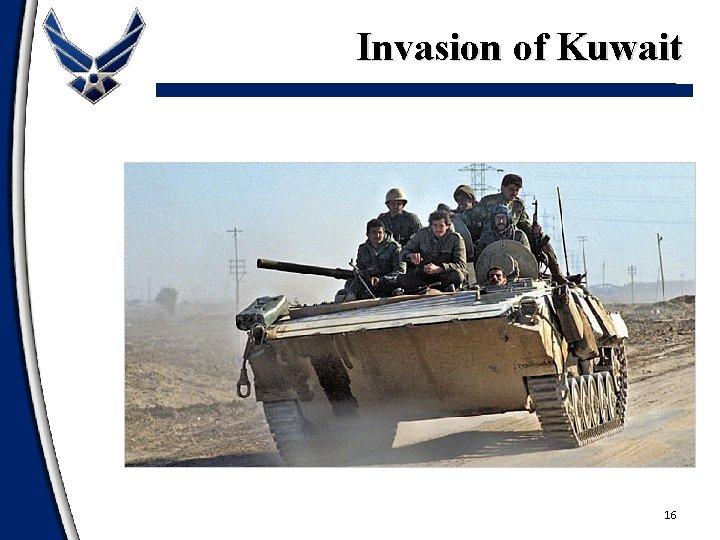 Invasion of Kuwait 16