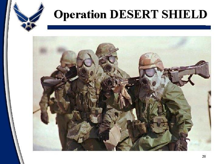 Operation DESERT SHIELD 28