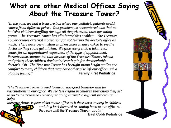 What are other Medical Offices Saying About the Treasure Tower?