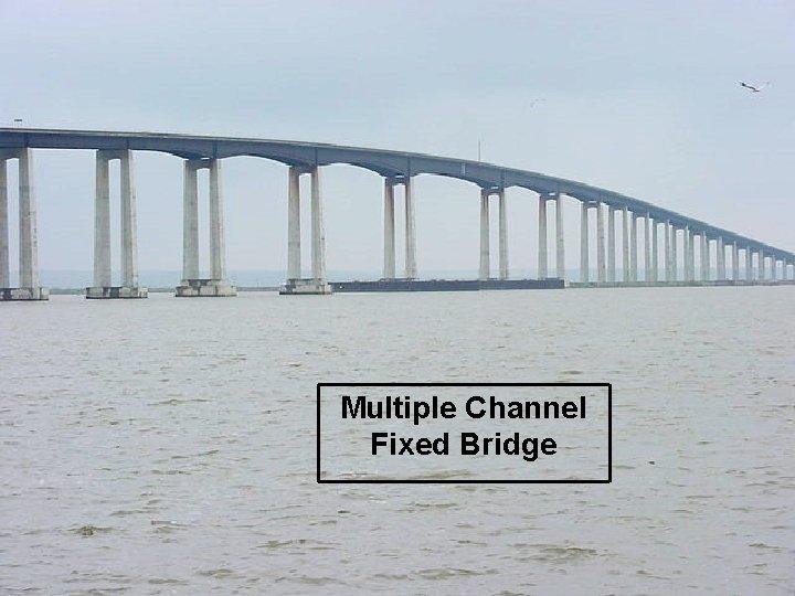 Multiple Channel Fixed Bridge 18