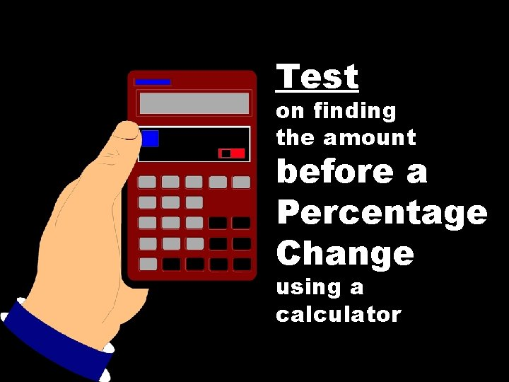 Test percentage calculator