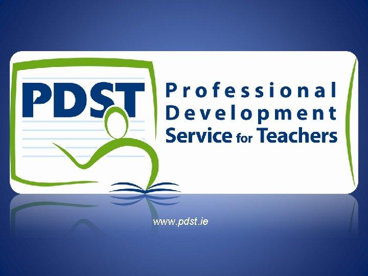 www. pdst. ie