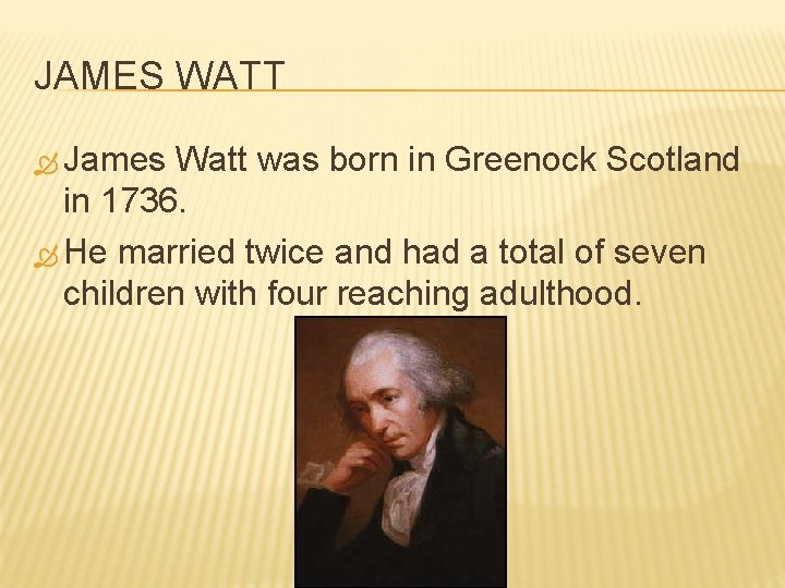 Thesis on james watt cheap phd personal statement examples