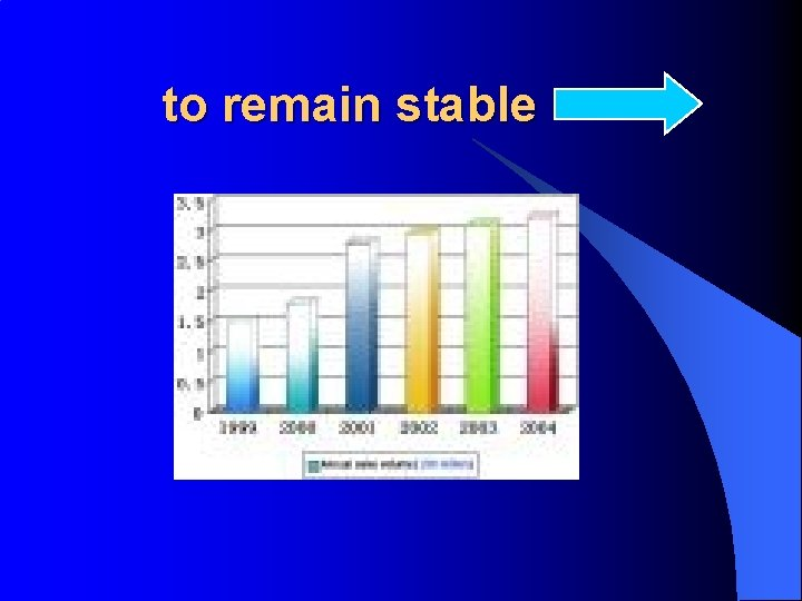 to remain stable