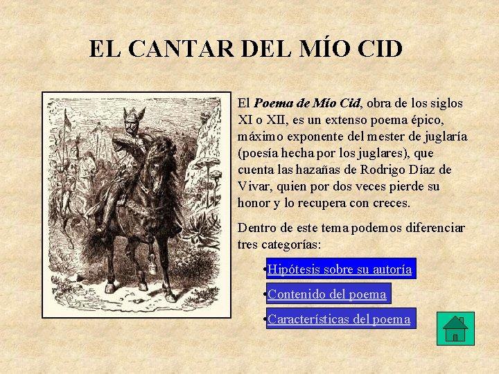 El Cantar Del Mo Cid 1 Los Juglares