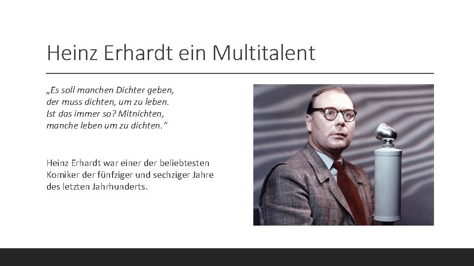 Heinz erhardt gedicht herbst