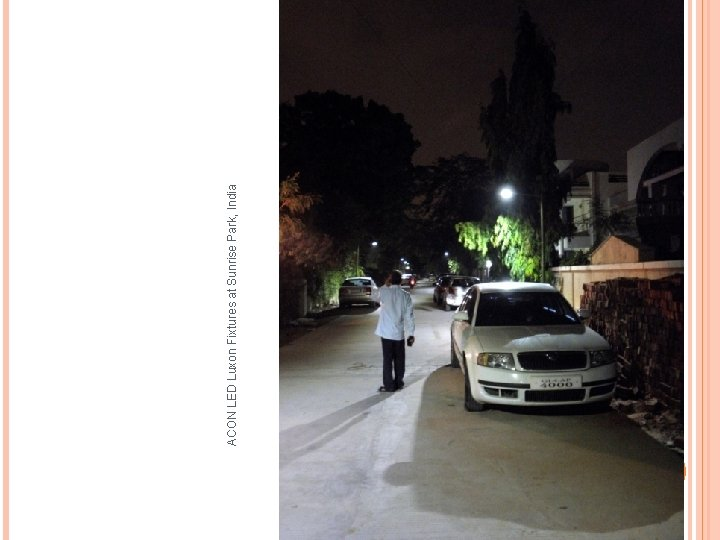 ACON LED Luxon Fixtures at Sunrise Park, India