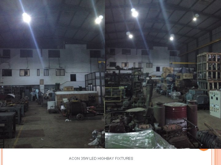 ACON 35 W LED HIGHBAY FIXTURES