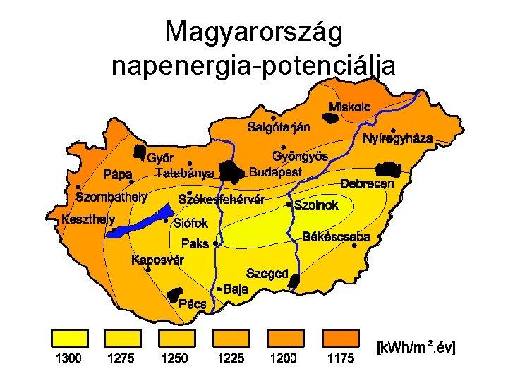 Magyarország napenergia-potenciálja