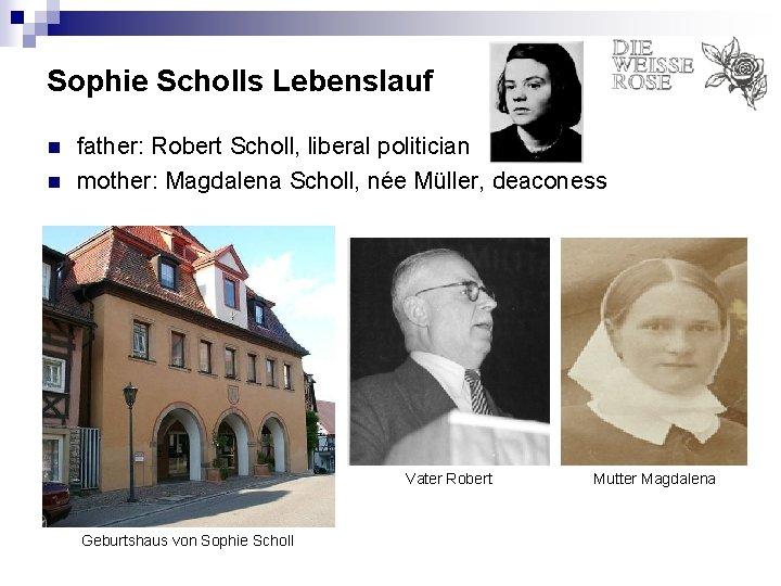 Sophie Scholl Biografie Jetzt Online Bestellen 9