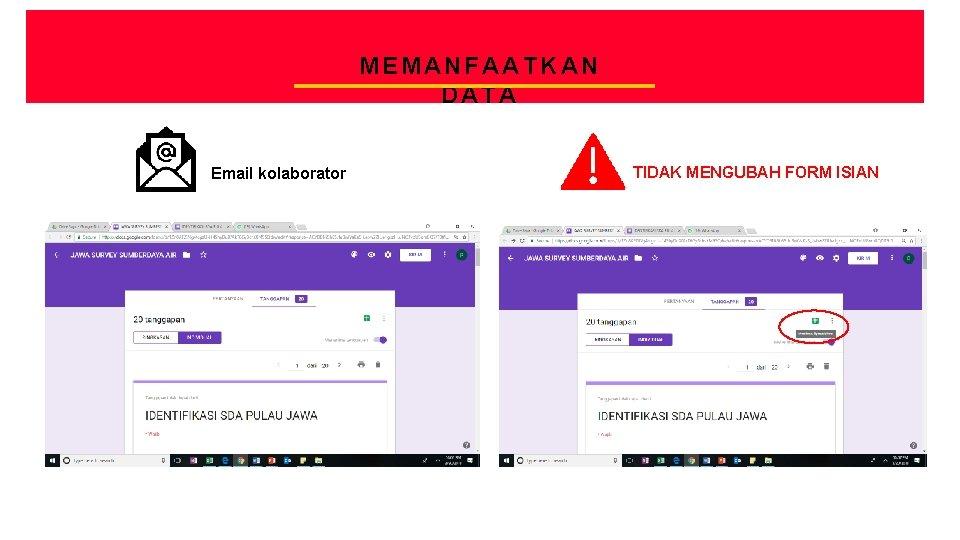 CREATIVE AGENCY PRESENTATION MEMANFAATKAN DATA Email kolaborator TIDAK MENGUBAH FORM ISIAN