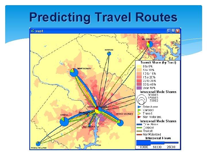 Predicting Travel Routes