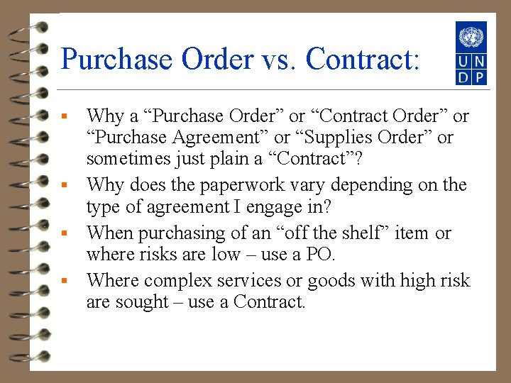 """Purchase Order vs. Contract: Why a """"Purchase Order"""" or """"Contract Order"""" or """"Purchase Agreement"""""""