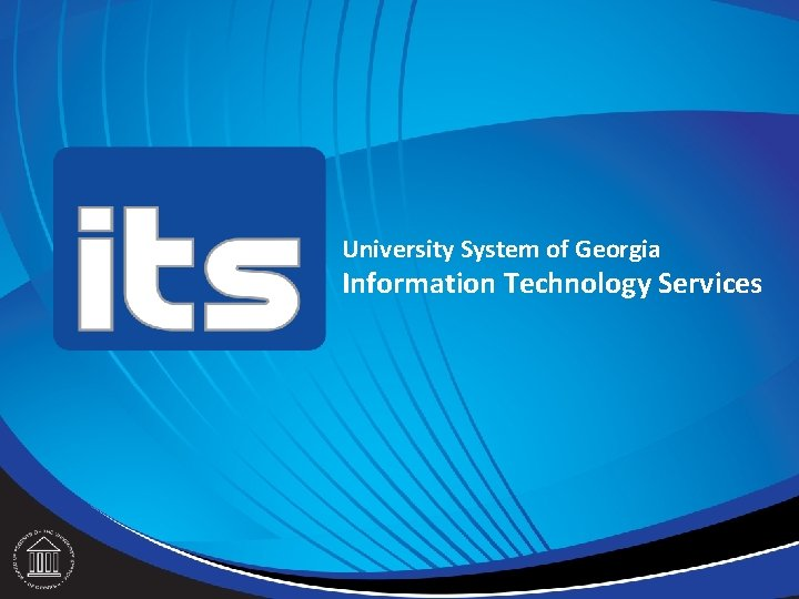 University System of Georgia Information Technology Services