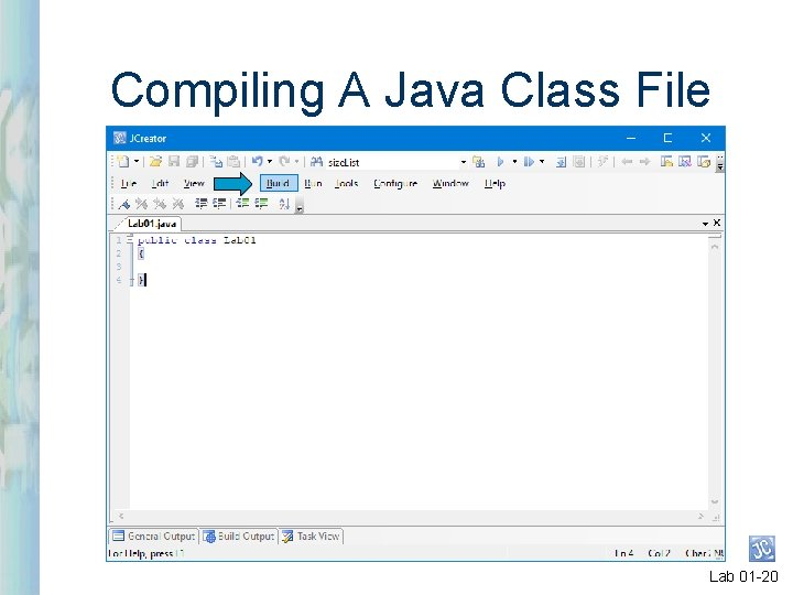 Compiling A Java Class File Lab 01 -20