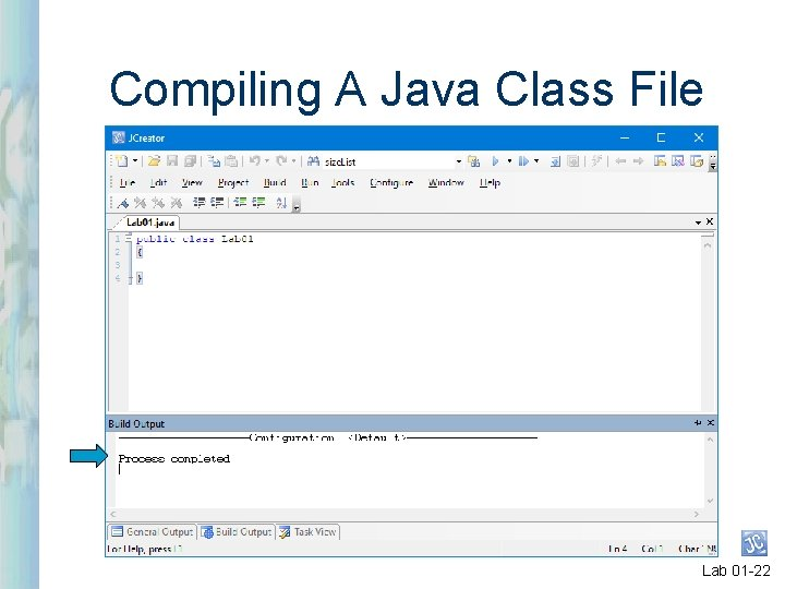 Compiling A Java Class File Lab 01 -22