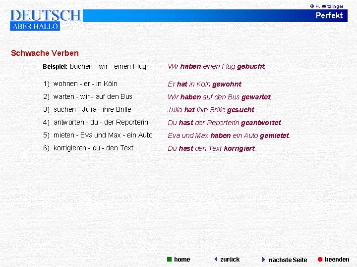 Perfekt Im Deutschen Einfache Erklarung Beispiele Ubungen