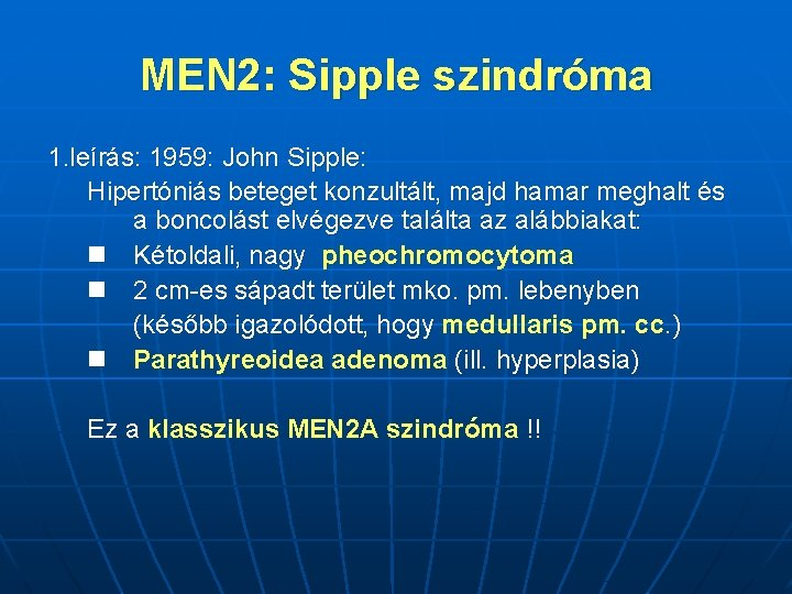 hipertóniára jellemző szindrómák