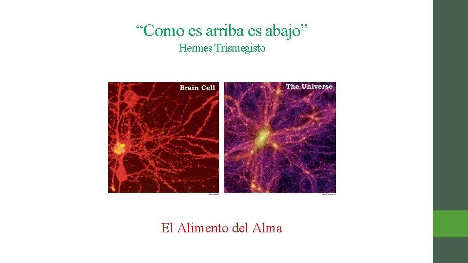 """""""Como es arriba es abajo"""" Hermes Trismegisto El Alimento del Alma"""