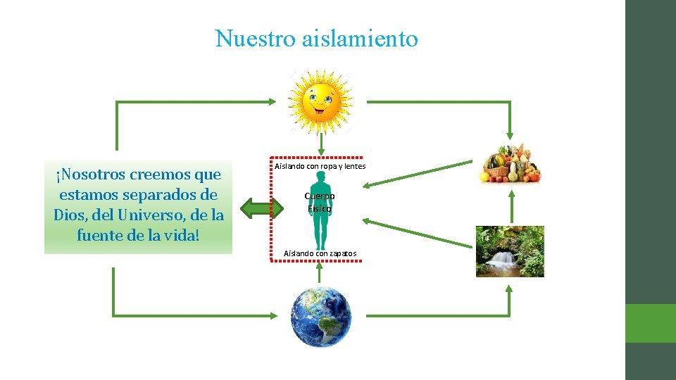 Nuestro aislamiento ¡Nosotros creemos que Cuerpo estamos separados de Energía de la Vida Vital