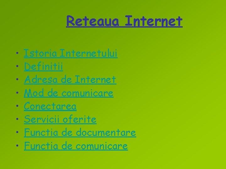 nume de identificare a internetului