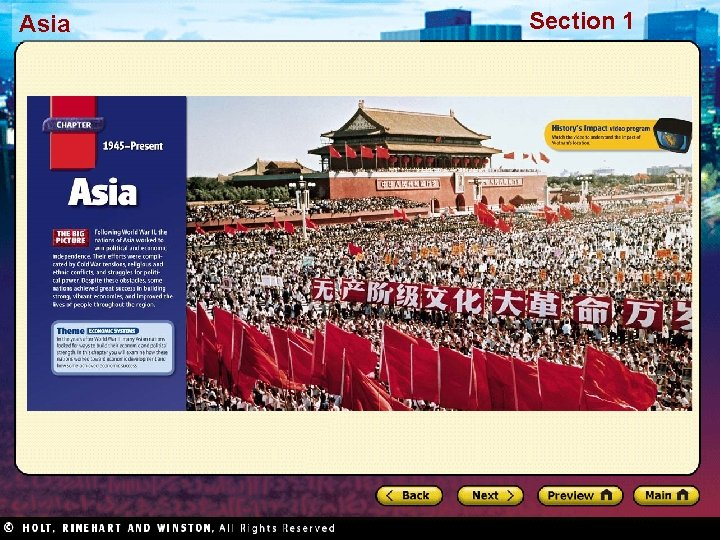 Asia Section 1