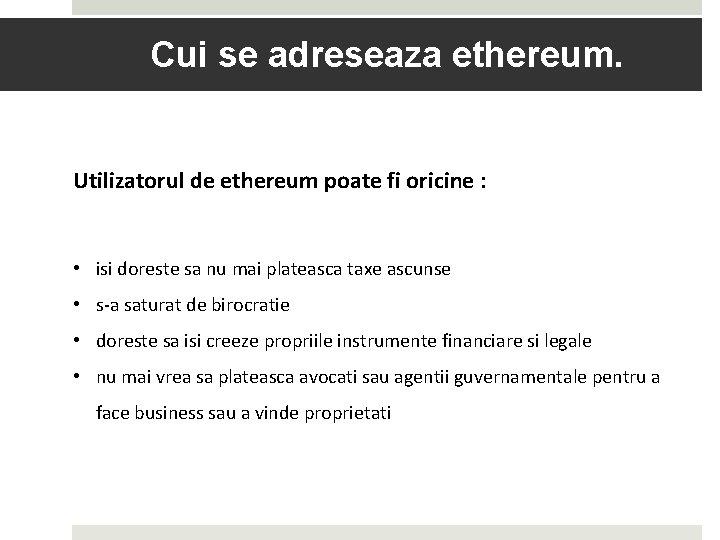 platforma de tranzactionare ethereum tranzacționarea de bitcoin străini