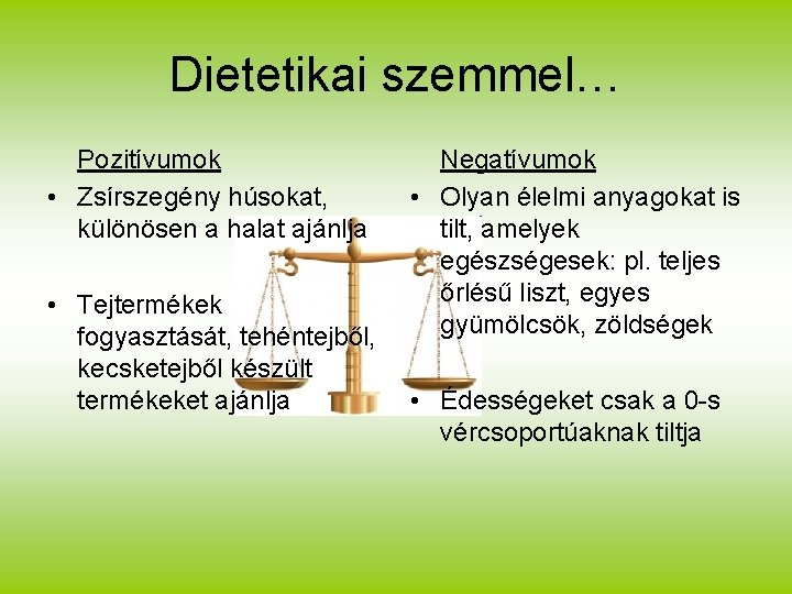 dietetikai étrend tervezés)