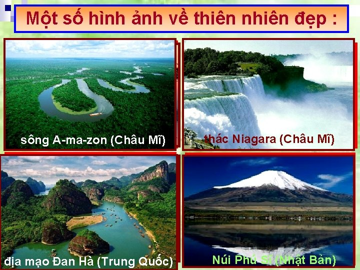 Một số hình ảnh về thiên nhiên đẹp : Vịnh Hạ Long (QUẢNG sông