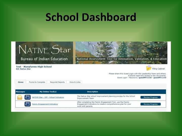 School Dashboard
