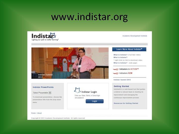 www. indistar. org