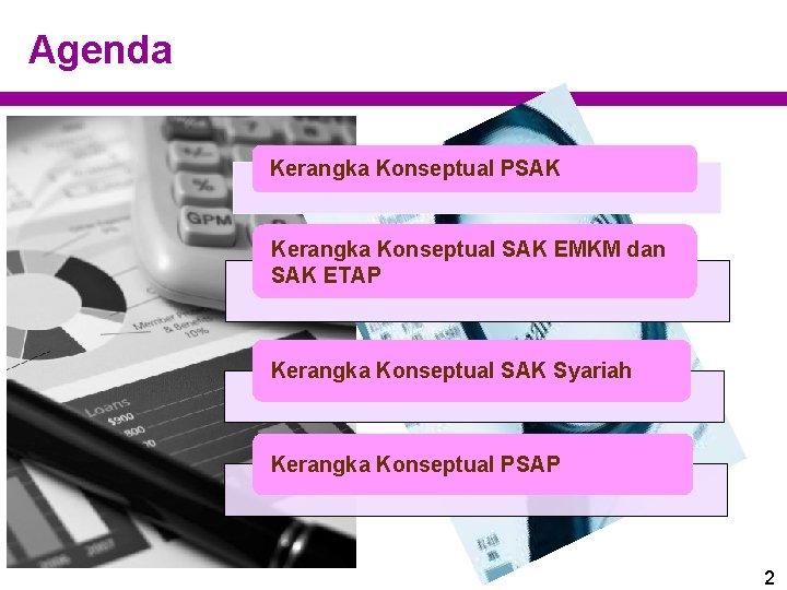 Agenda Kerangka Konseptual PSAK Kerangka Konseptual SAK EMKM dan SAK ETAP Kerangka Konseptual SAK