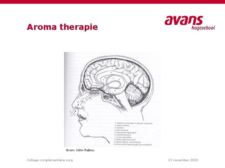 Aroma therapie https: //tallsay. com/ Bron: John Rabou College complementaire zorg 23 november 2020