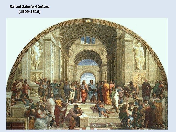 Rafael Szkoła Ateńska (1509 -1510)