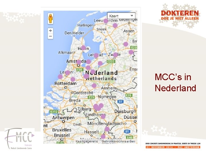 MCC's in Nederland