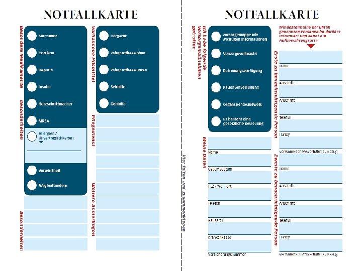 Notfallmappe Name Vorname Pdf Kostenfreier Download 13 6