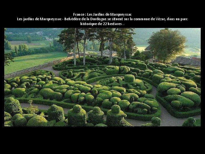 France : Les Jardins de Marqueyssac Les jardins de Marqueyssac - Belvédère de la