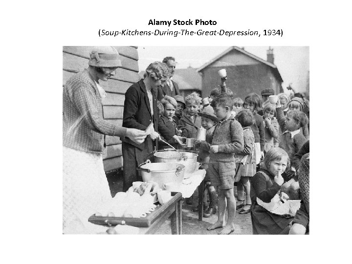 Alamy Stock Photo (Soup-Kitchens-During-The-Great-Depression, 1934)