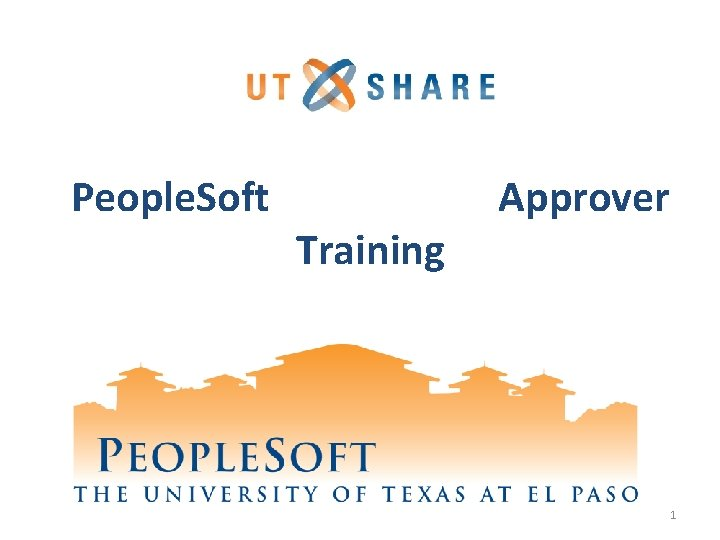 People. Soft Training Approver 1