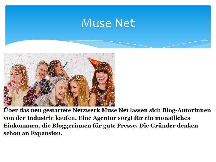 Muse Net