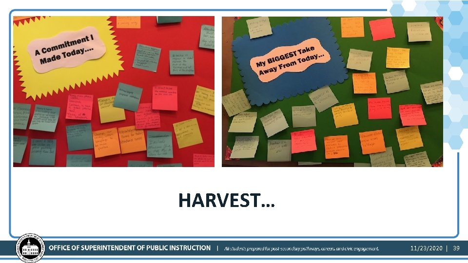 Harvest HARVEST… 11/23/2020 | 39