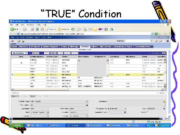 """""""TRUE"""" Condition"""