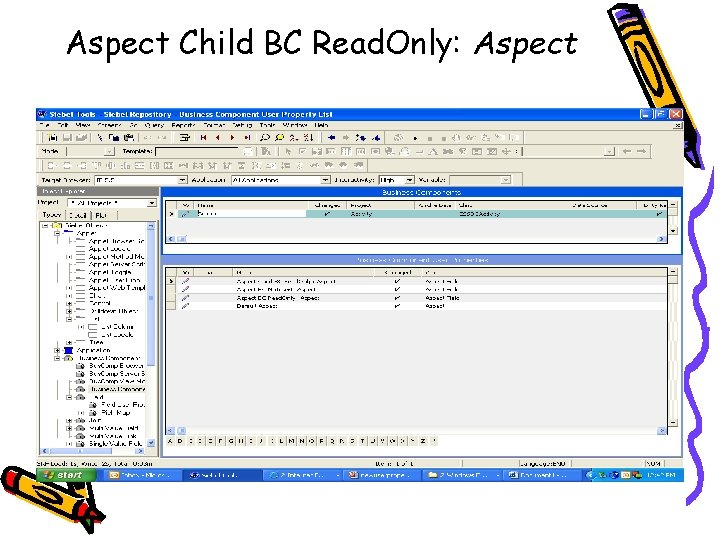 Aspect Child BC Read. Only: Aspect